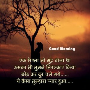 Good Morning image sms for Friends in hindi 7