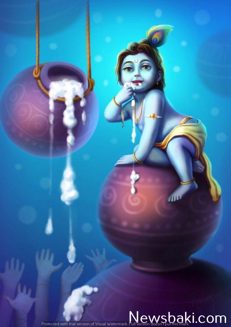 cute baby krishna images hd 4
