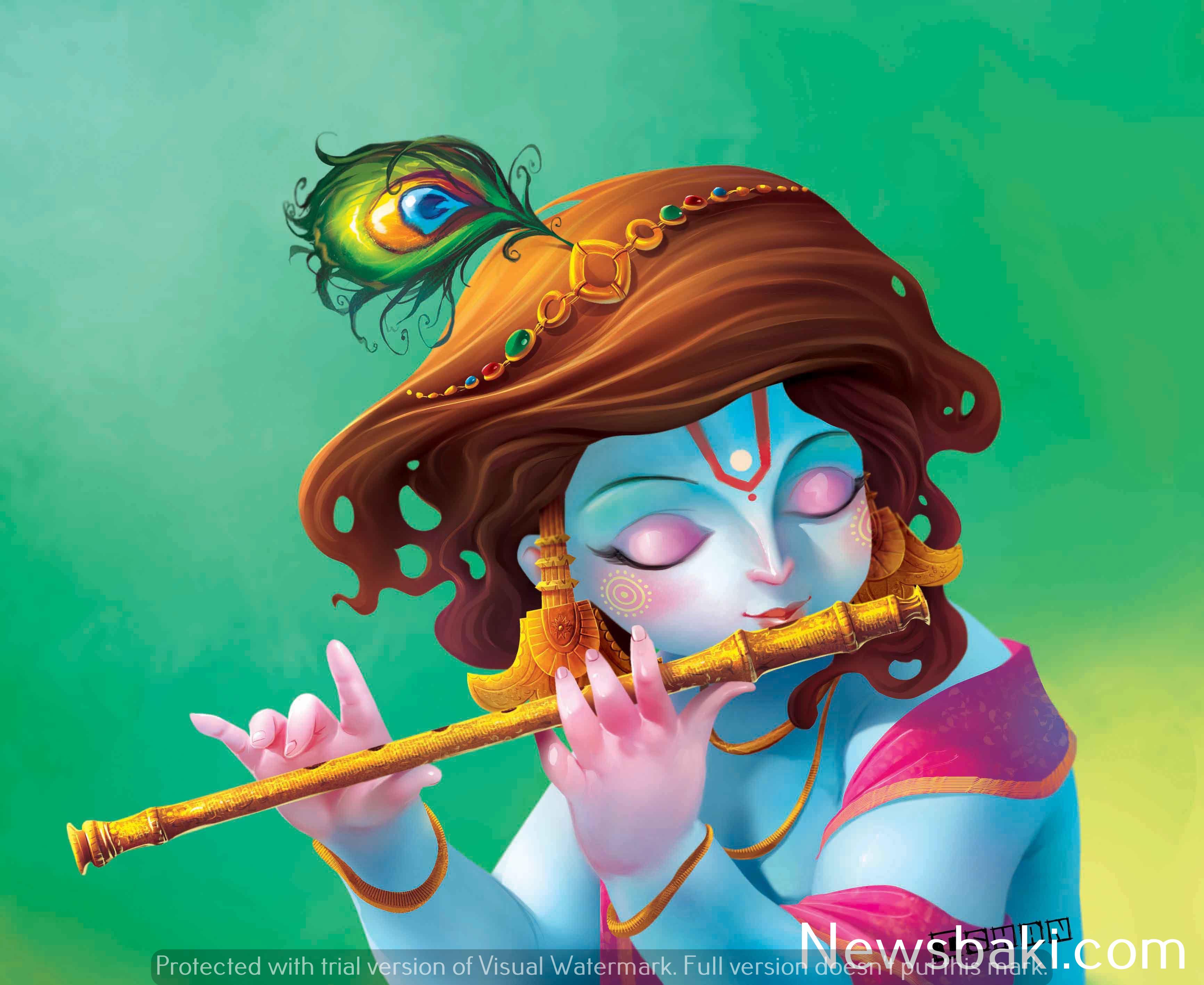 cute little krishna images hd 1