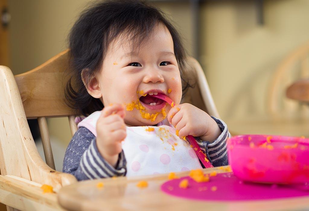 आठ महीने के बच्चे के लिए खाद्य विचार