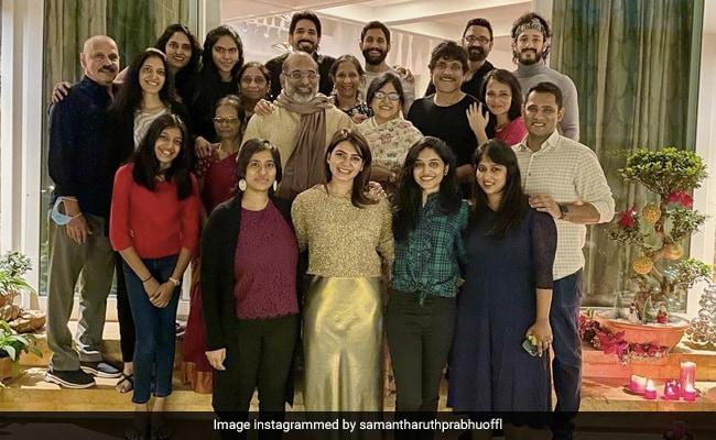 क्रिसमस 2020: समांथा रूथ प्रभु, नागा चैतन्य, अखिल अक्नी और अन्य के साथ नागार्जुन के समारोह