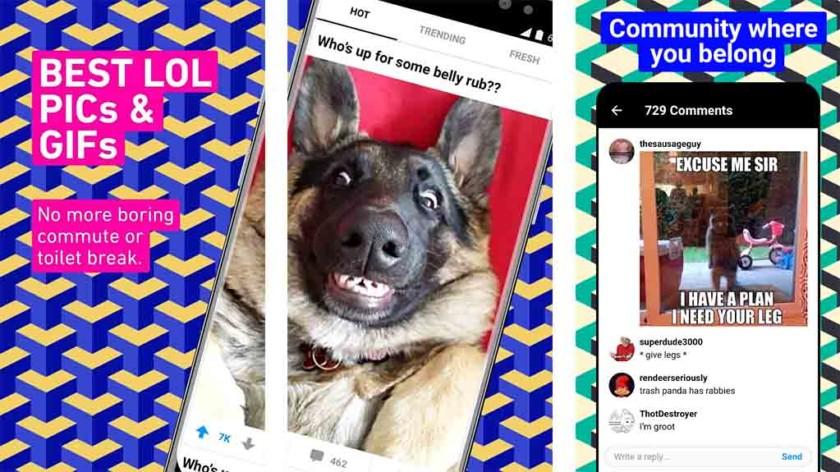 9gag - Android के लिए सबसे अच्छा अजीब अनुप्रयोग