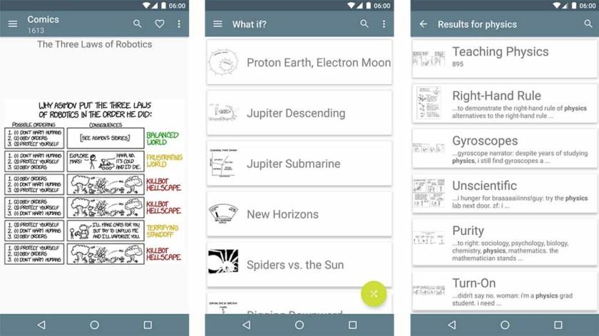 आसान xkcd - Android के लिए सबसे अच्छा अजीब अनुप्रयोग